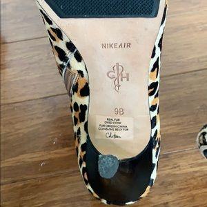 Cole Haan Shoes - Cole Hahn Leopard Heel Booties